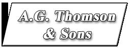 A G Thomson & Sons Logo