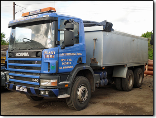 AGT Tipper Hire